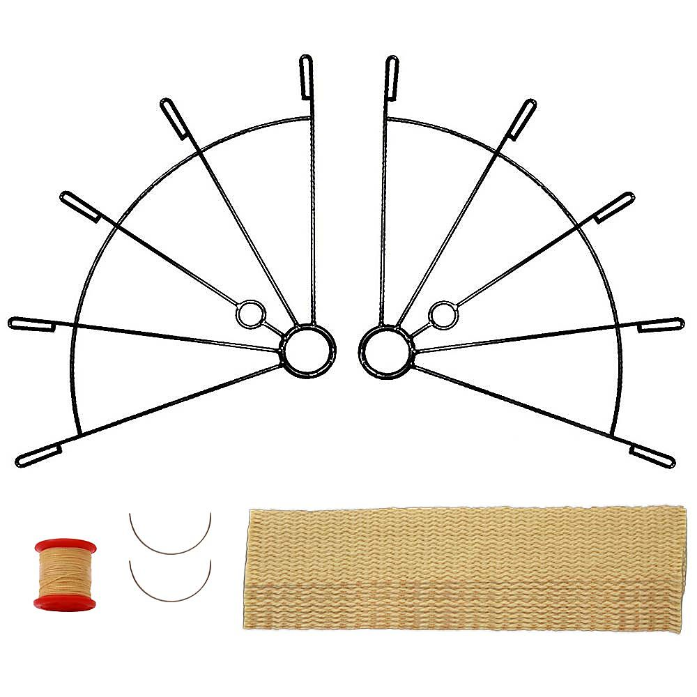 5 Finger Fan Kit with 50mm wicks