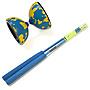 Blue/Yellow with Blue Handsticks