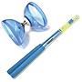 Blue with Blue Handsticks