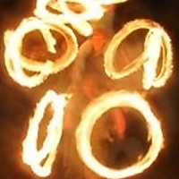 three story fire spinner