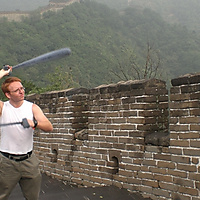 LazyAngel¬Hyperloop cones on the Great Wall