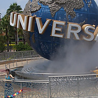 Universal Studios, Florida (The Globe = Poi Around the World, literally)