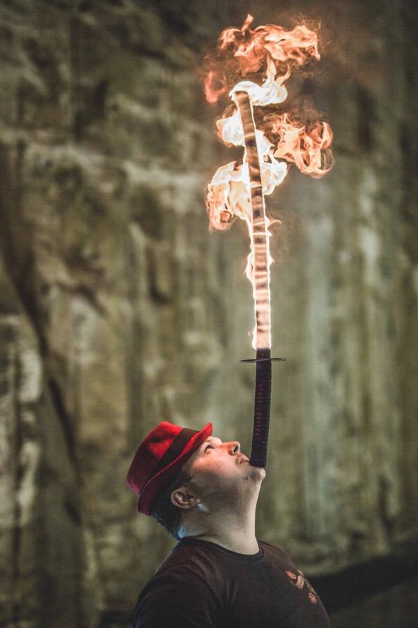 Balance Between Fire & Sword