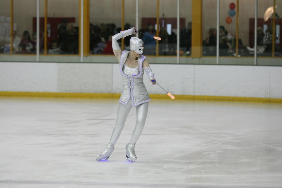 Silver Light Alien