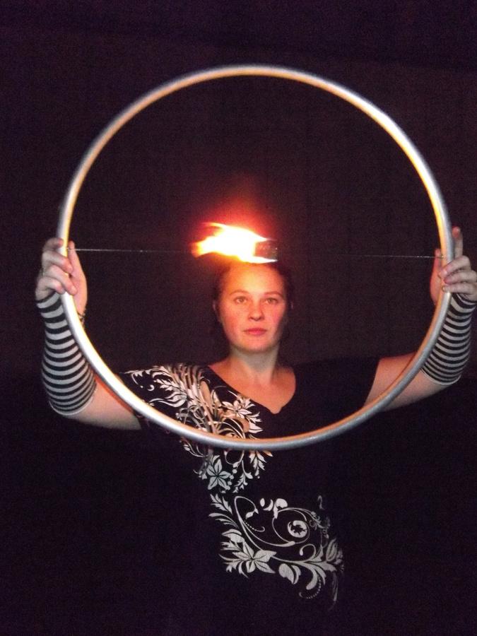 Fire isolation hoop