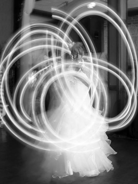 poi wedding spinning