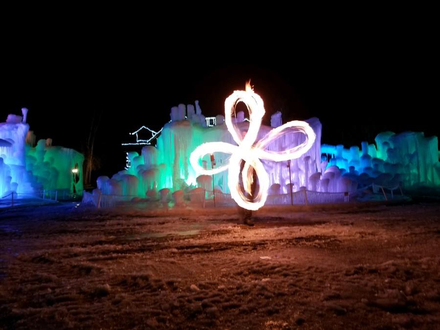 Fire & Ice Flower