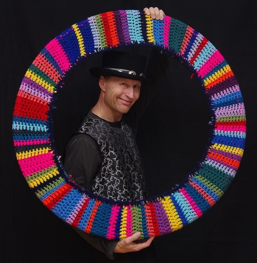 crochet hoop