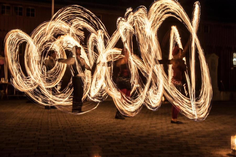 Foyk Fire and Light Art