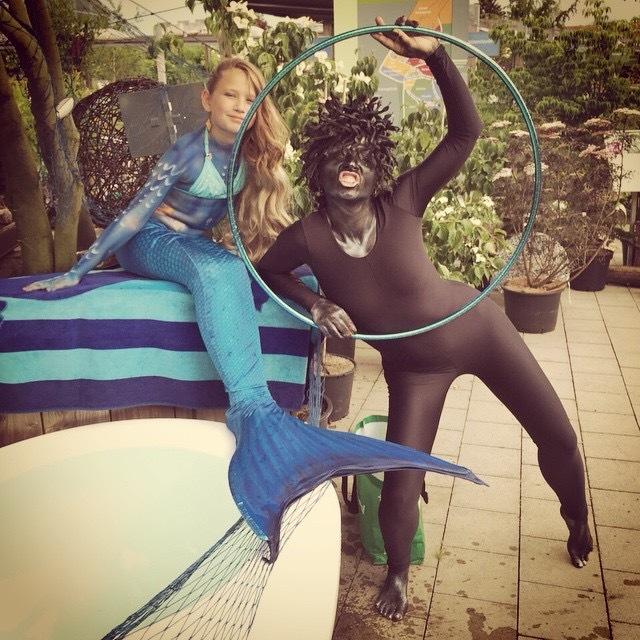 the medusa and the mermaid