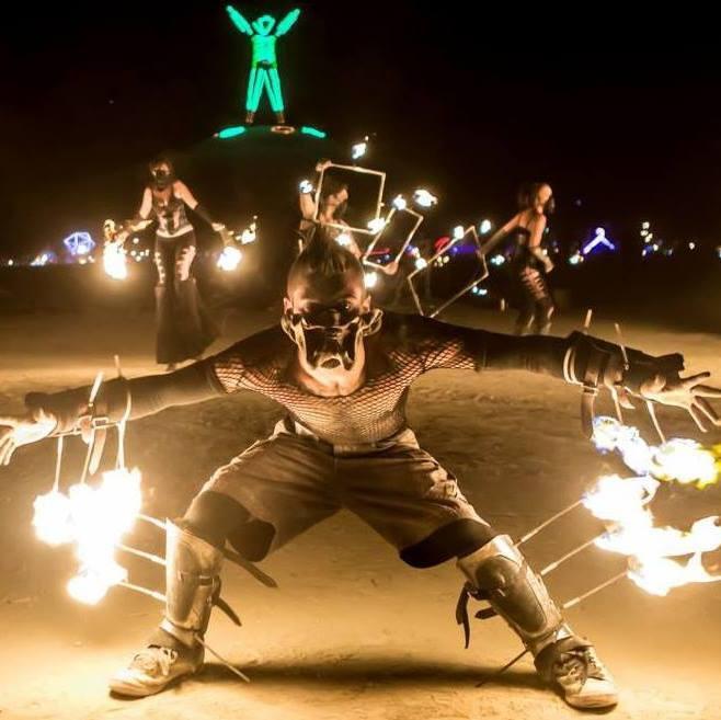 Static Props at Burning Man