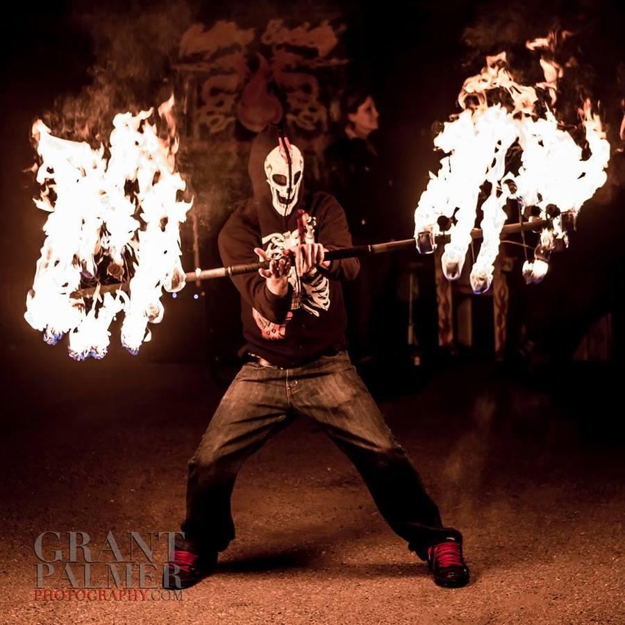 Hellfire Dragon Staff