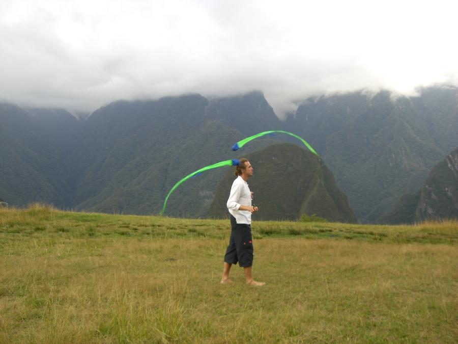 poi-fun @ machu picchu - 8 years ago