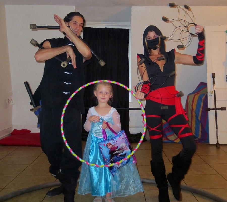 GeomeTrio Family Flow Arts