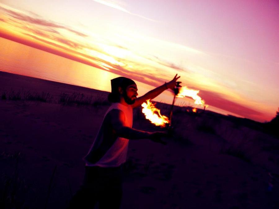 Beach Burn