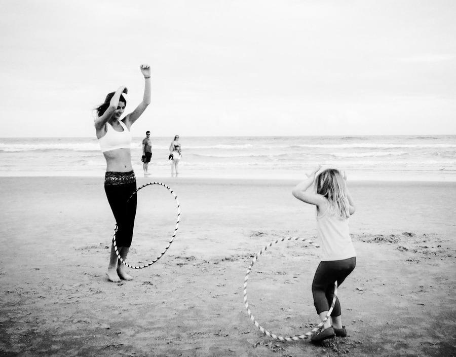 Bonding with hoops