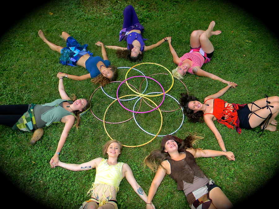 Hoop Troupe Flower of Life uploaded by mariajacob