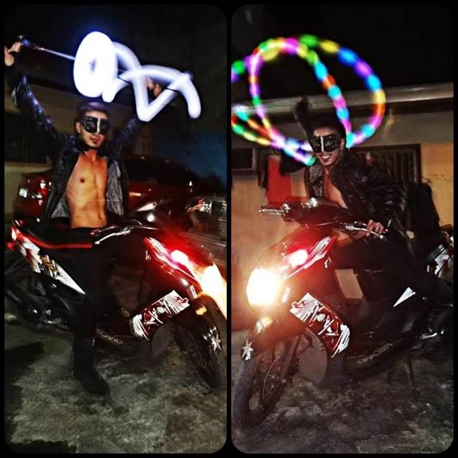Mask POI Rider