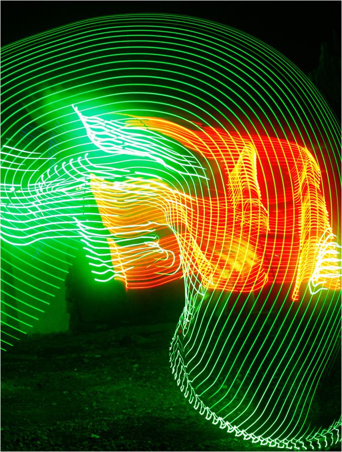 tunel de luz