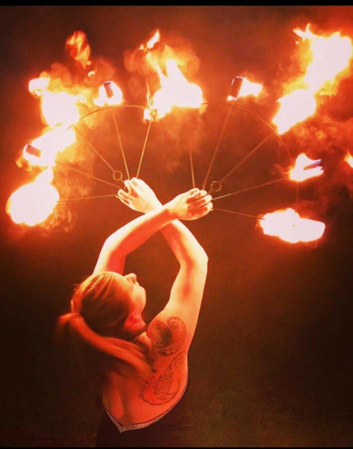 Paula Peters Fire fans