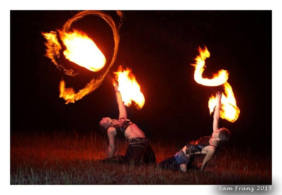 Fiery spirits