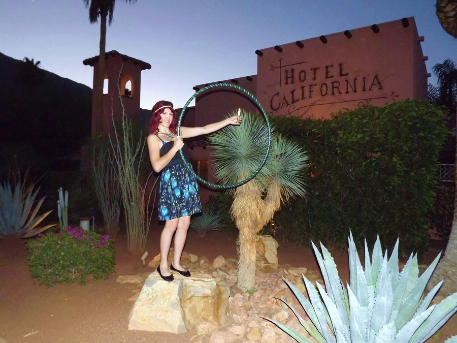 Hooping at the Hotel California...