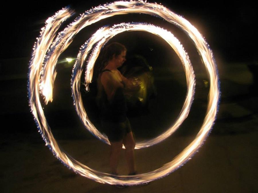 Framed in Flames