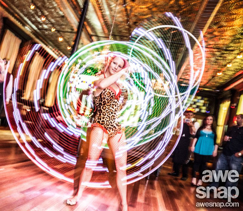 LED Hooping