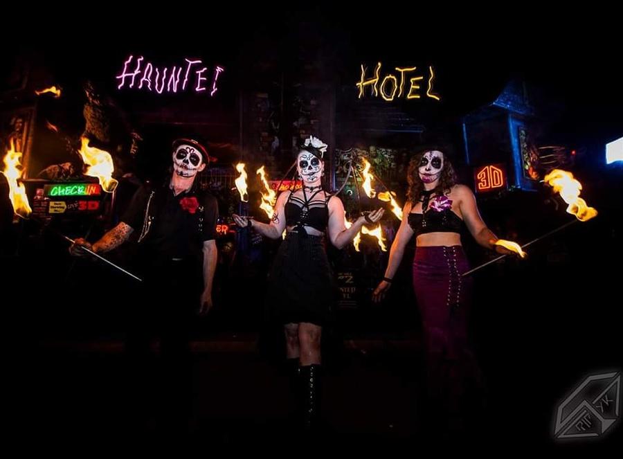Dia de Los Muertos  at the Haunted Hotel