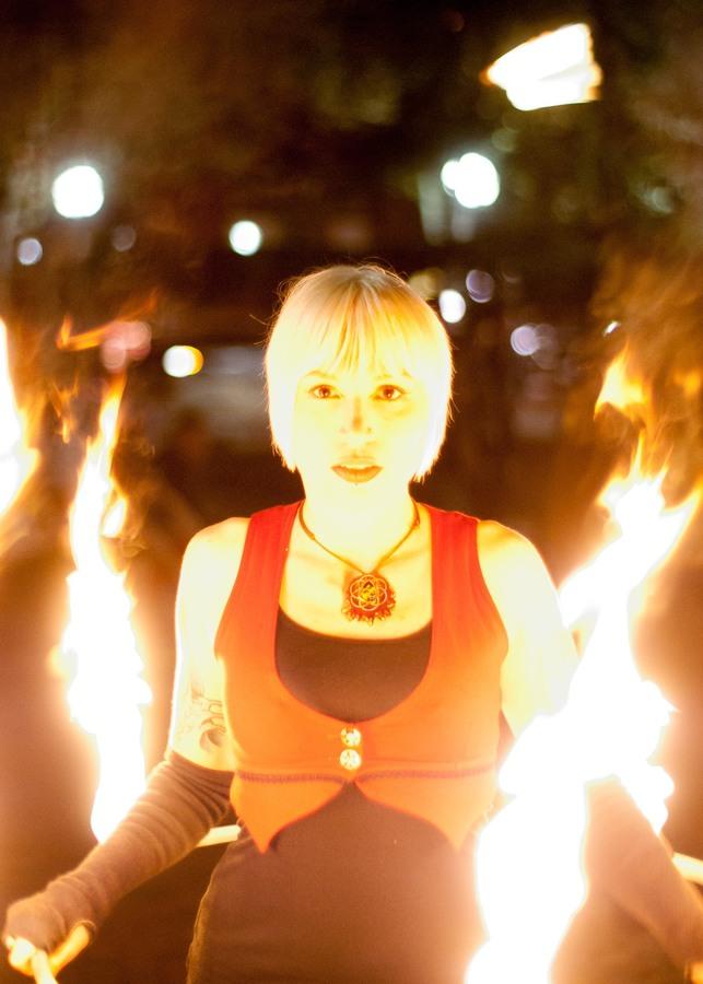 Friday night burn in Portland, ME