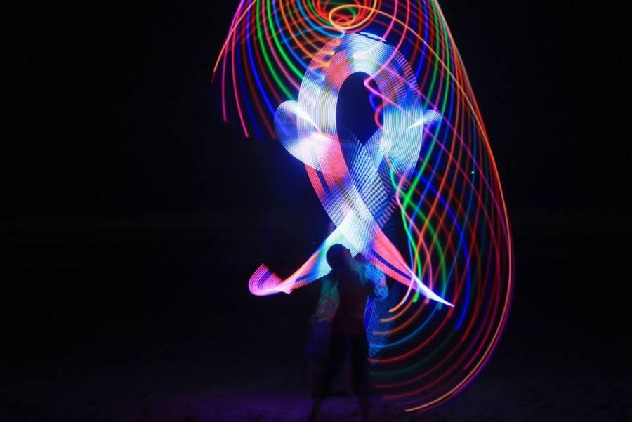 LED tosses