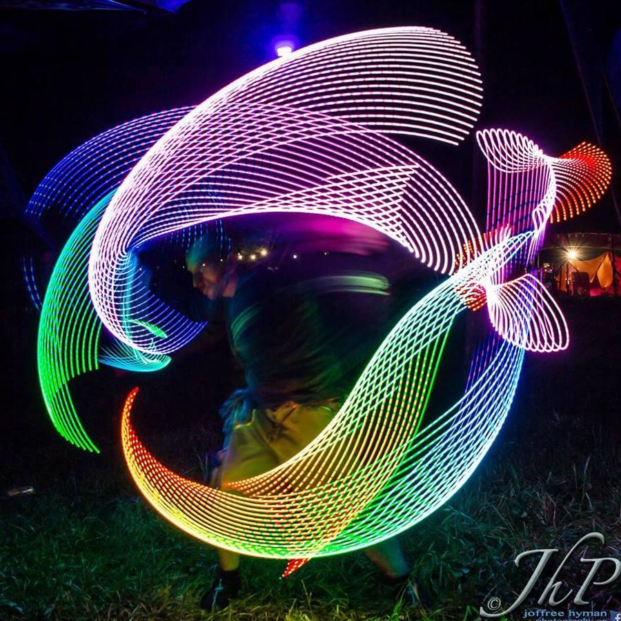 LED buugeng trails