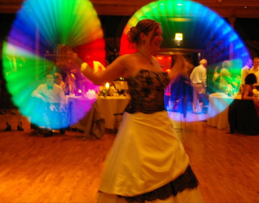 Taking flight - brides hyperlights