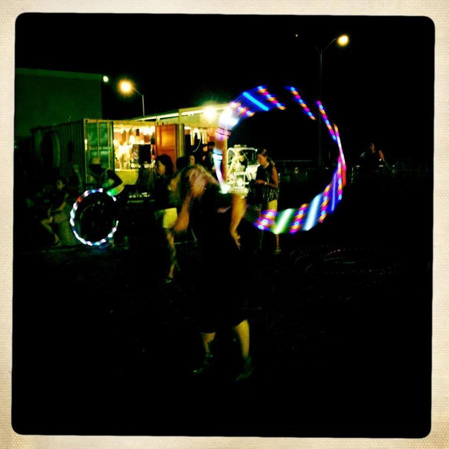asbury park drum circle hooping