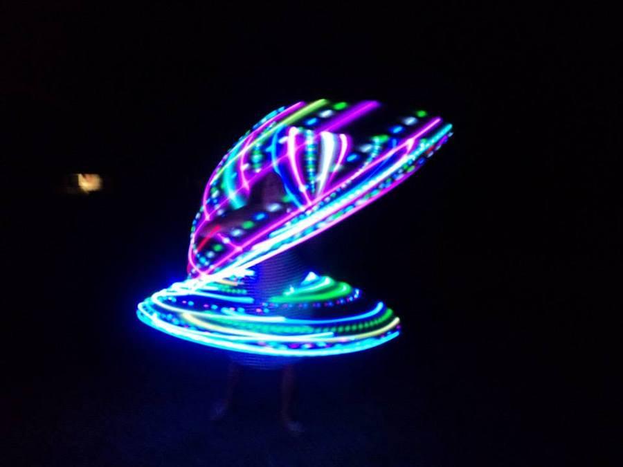 2 LED Spiral