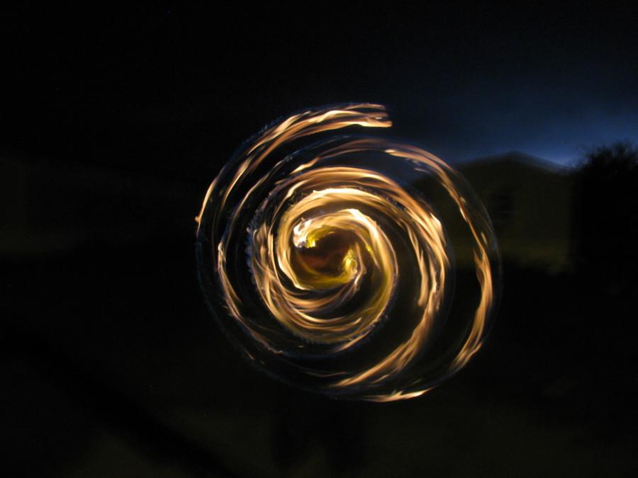 Spiral with Lightening