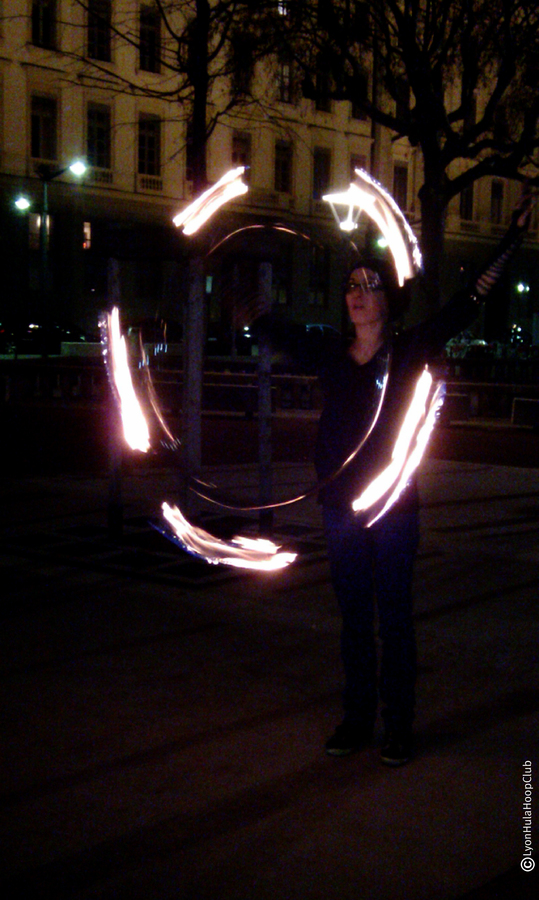Play With Hoop Fire