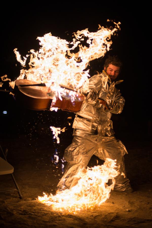 Cello Burn