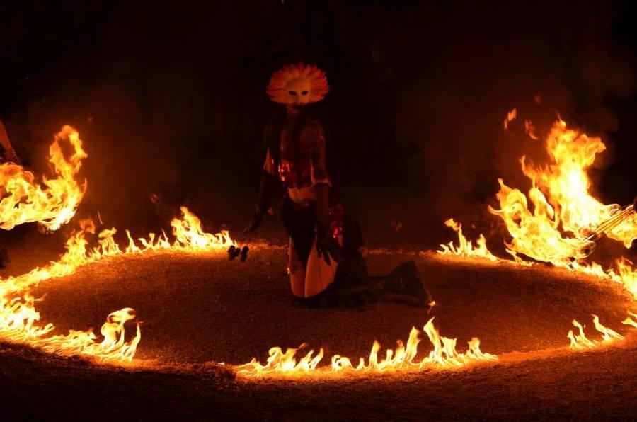.Godess of burning Moons.