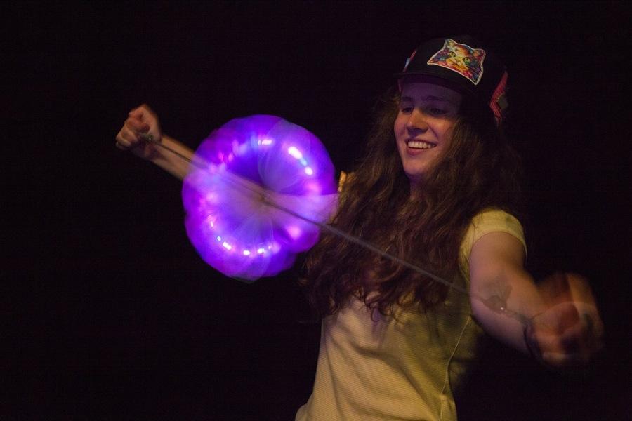 Purple Ring of Magic