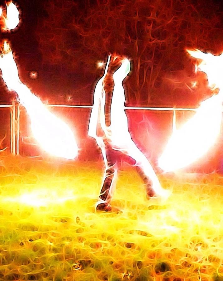 Burning Death Stars