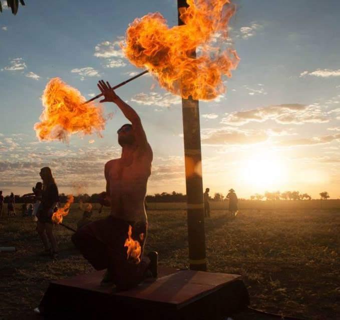 A burners sunset
