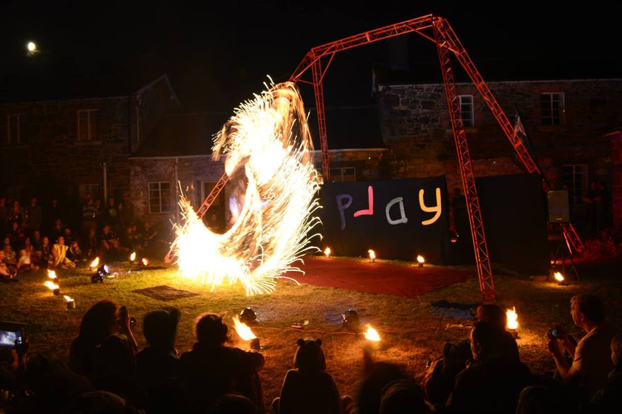 Fire Whip at Play 2013
