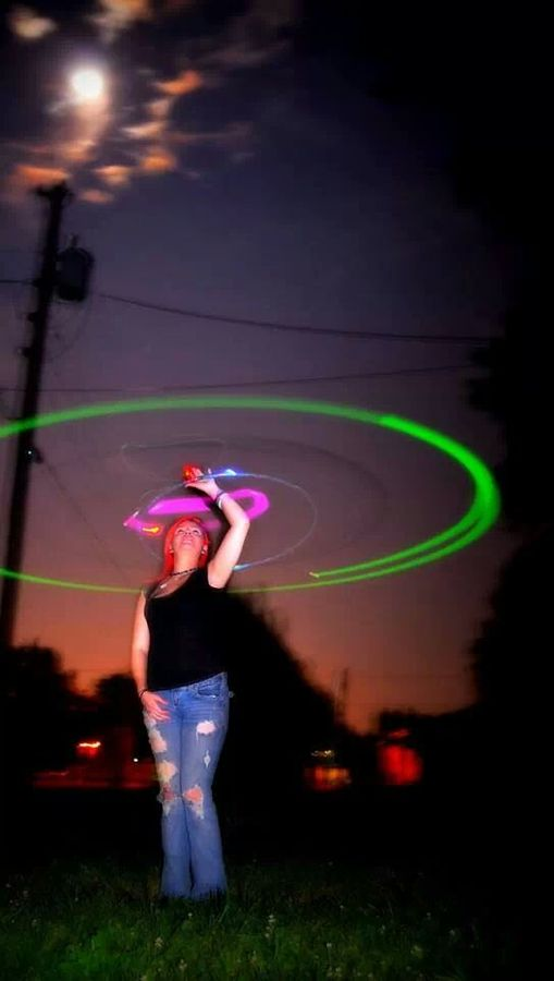 night hooping