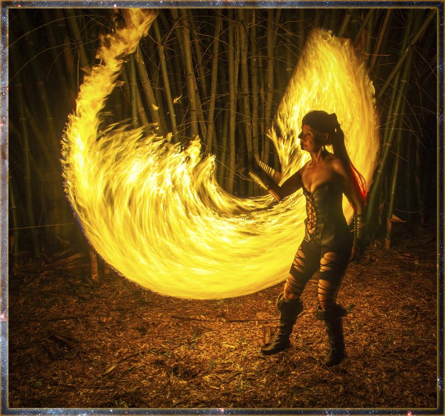 SkyeDancer with Firesword