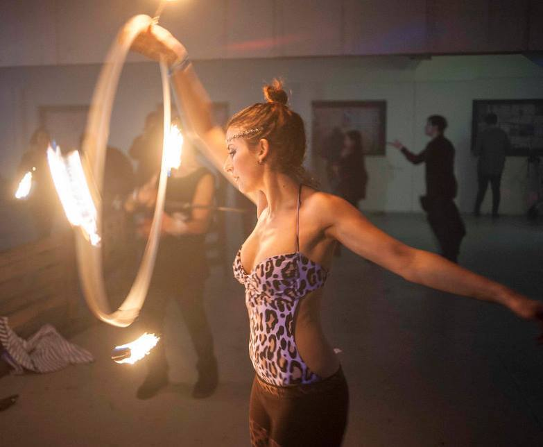 Sexy Fire Hooping? ;P