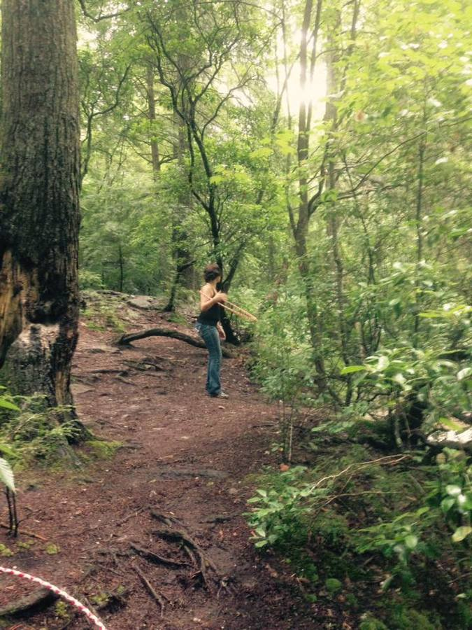 Hooping in nature