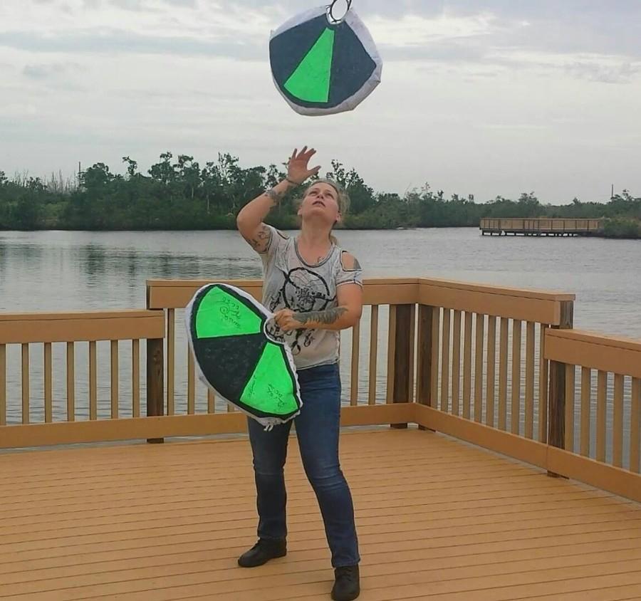 Flying fans