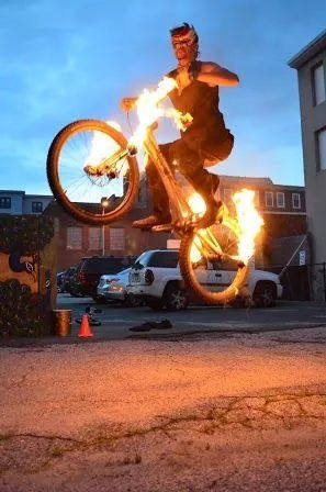 Fire Bike Masquerade