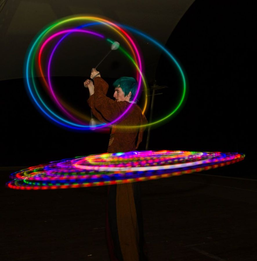 Hoop and Poi :D